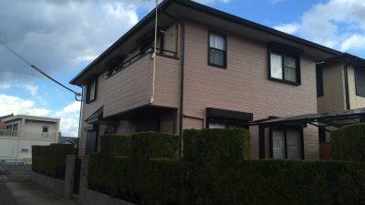 有田市箕島 K本様邸 の塗替えをさせていただきました。(2017.12)