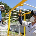和歌山県塗装工業協同組合からのボランティアに参加
